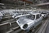 Mini car factory, UK