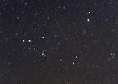 Capricornus constellation, optical image