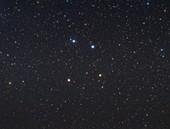 Corvus constellation, optical image