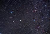 Gemini constellation, optical image