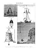 Diving bells, 19th century