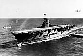 HMS Ark Royal aircraft carrier, 1939