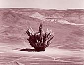 Nevada Test Site explosion, 1956