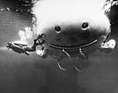 Deep Quest rescue submersible, 1968