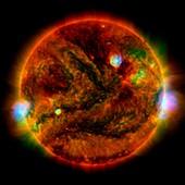 Active Sun, composite image