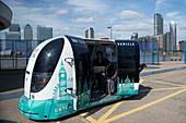 Prototype zero emission driverless shuttle