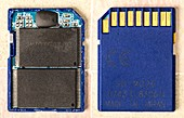 Secure Digital High Capacity memory card