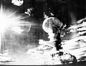 1950s Soviet atom bomb test at Semipalatinsk