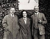 Nicolai Maximov, Tatiana Maximova and John Briquet