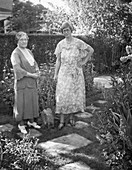 Hilda Hempl Heller with her mother-in-law