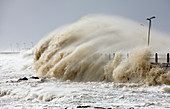 Waves during storm, Cape Town, South Africa