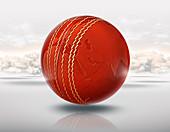 Illustration of cricket world cup