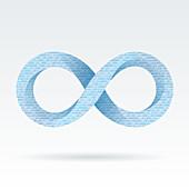 Digital infinity, illustration