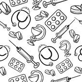 Medical items, illustration