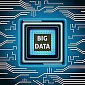 Big data, illustration