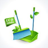 Environmental care, illustration