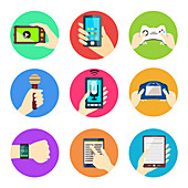 Electronic devices, illustration