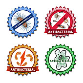 Antibacterial agents, illustration