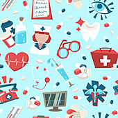 Healthcare, illustration