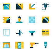 DIY icons, illustration