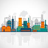 Industry, illustration