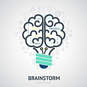 Brainstorming, illustration