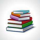Books, illustration