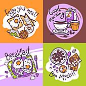 Breakfast, illustration