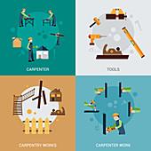 Carpentry, illustration