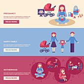 Family, illustration