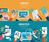 Credit analysis, illustration
