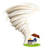 Tornado, illustration