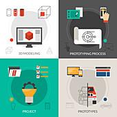 Product design, illustration
