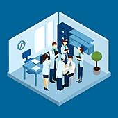Healthcare, illustration