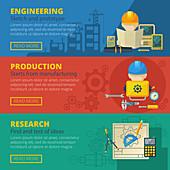 Civil engineering, illustration
