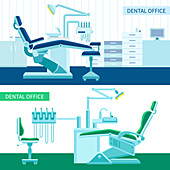 Dental surgeries, illustration