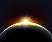 Planet earth, illustration