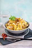 Tagliatelle with spice butter