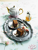 Ginger Cake with Honey and Spice Syrup