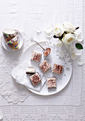 Cappuccino Mousse Squares