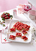 Strawberry Custard Slice