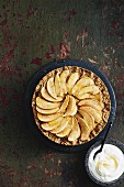 Gingerbread and apple pie