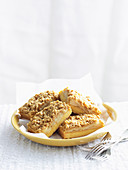 Apple Streusel Slice