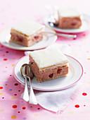 Rhubarb Custard Slice