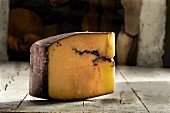 Cheese with a red wine rind