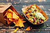 Mexican Buckwheat: Buchweizen-Bulgur mit Kidneybohnen und Avocado