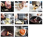 Spanferkel mit Kartoffelpüree zubereiten