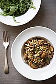 Mushroom risoni