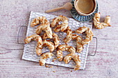 Pignolats (pine nut biscuits, Provence, France)