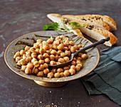 Balillah – Palestinian chickpea salad